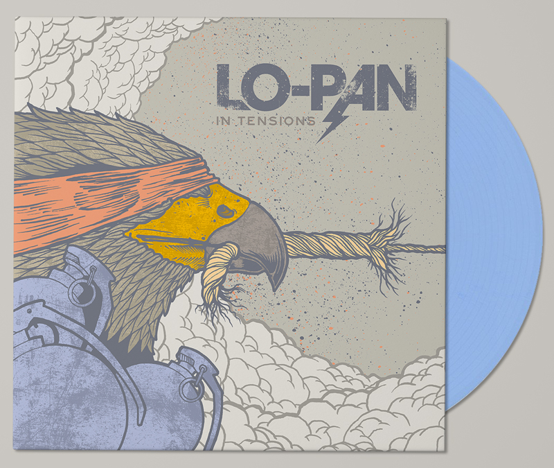 LO-PAN IN TENSIONS Album Cover